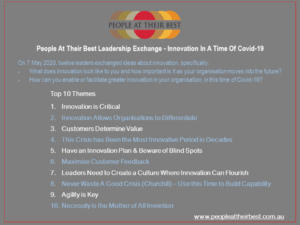 Leadership Exchange Innovation During Covid-19 Headings Only